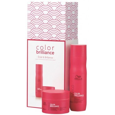 Coffret de Noël Color Brillance Invigo Wella