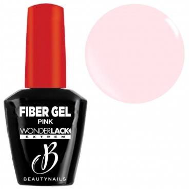 Base & builder pink Fiber Gel Beauty Nails 12ML