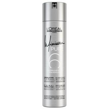 Laque Infinium Pure Extra-Strong L'Oréal Professionnel 300 ML