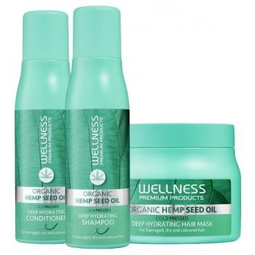 Trio shampooing, masque & conditionneur Hydration Wellness