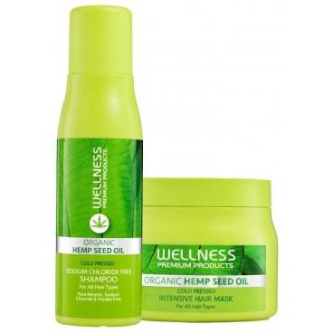 Duo shampooing & masque Intensive Wellness