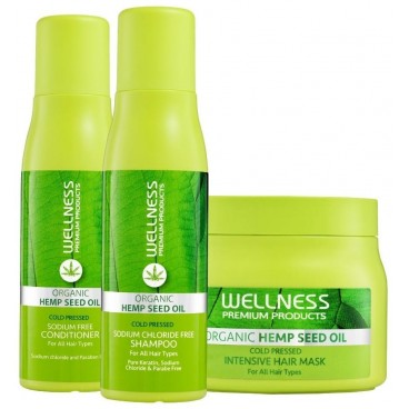 Trio shampooing, masque & conditionneur Intensive Wellness