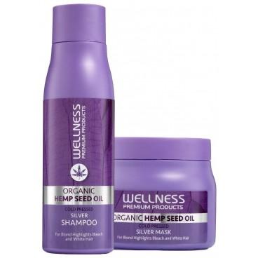 Duo shampooing & conditionneur Platinum Wellness