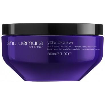 Masque violet anti mauvais-reflets Yubi Blonde Shu Uemura 200ML