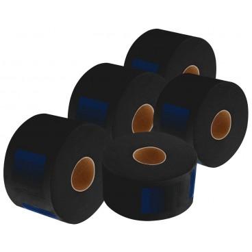 Lot de 5 rouleaux de 100 col crêpe noir