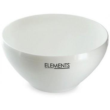 Image of Elementi semi rigidi della ciotola bianca