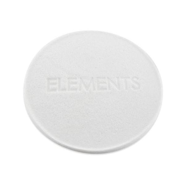 Elements white skincare sponge