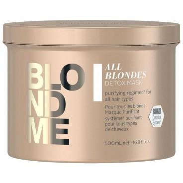 Masque purifiant BlondMe Schwarzkopf 500ML
