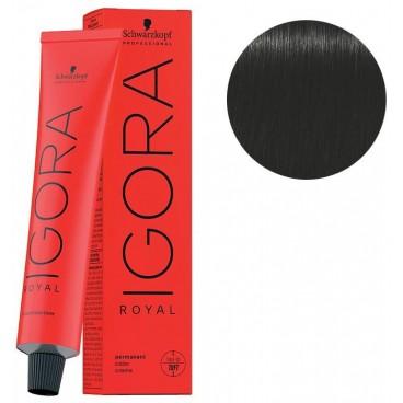 Igora Royal 1-0 Black 60 ML