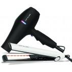 InfraRED Haarglätter und Flow + Haartrockner