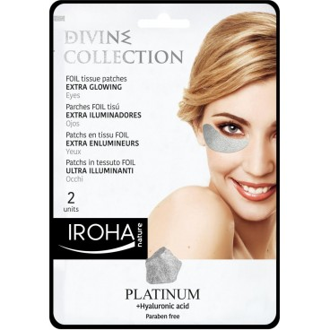 Image of Toppe per occhi illuminanti extra in platino IROHA
