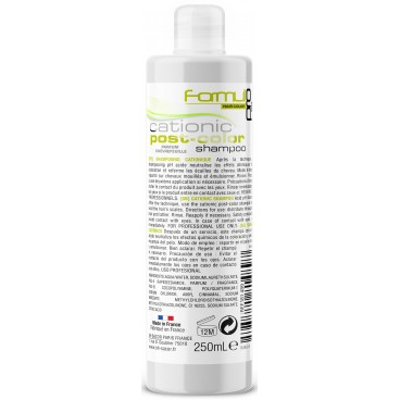 Shampooing postcolor soin cationique Formul Pro 250ML