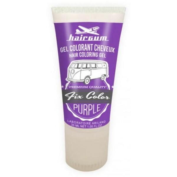 Hairgum Gel Fix Color Púrpura 30 ML