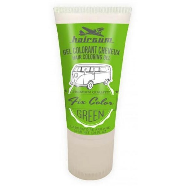 Gel vert Fix Color HAIRGUM 30GR
