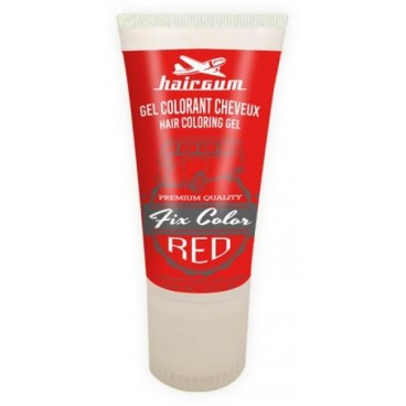 Image of Hairgum gelo Fix Color rosso - 30 ml -