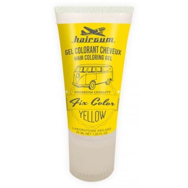 Hairgum Gel Fix Farbe Gelb 30 ML