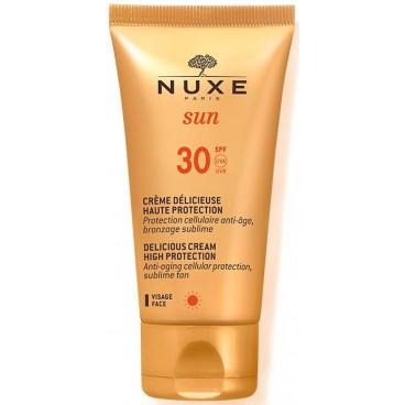 Crème délicieuse haute protection SPF 30 Nuxe Sun 50ML