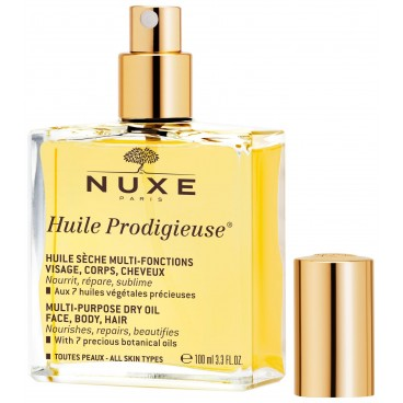 Huile Prodigieuse® visage, corps & cheveux Nuxe 100ML