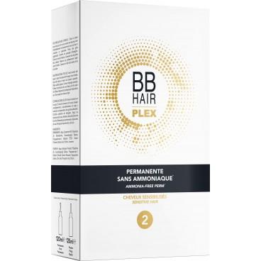 Permanente sans ammoniaque n°2 cheveux sensibilisés BBHair Plex