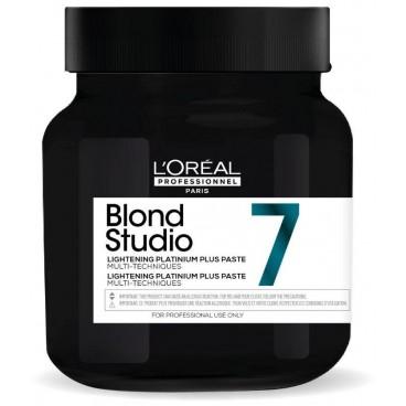L'Oréal Professionnel Studio Platinum + Blond pasta blanqueadora de 7 tonos