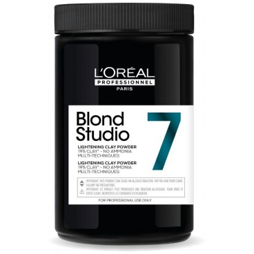 Polvo decolorante 7 tonos sin amoniaco Blond Studio L'Oréal Professionnel 500g