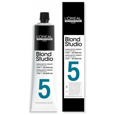Tube Majimèches 5 tons Blond Studio L'Oréal Professionnel 50ML