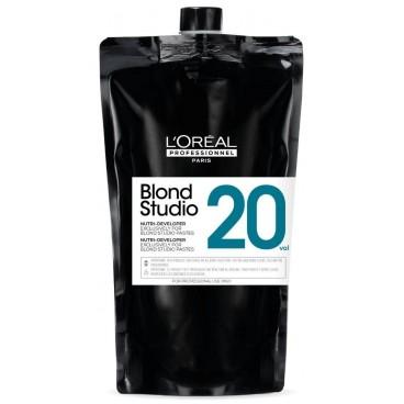 Oxydant crème nutri-développer 20V Blond Studio L'Oréal Professionnel 1L
