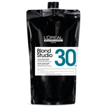 Oxydant crème nutri-développer 30V Blond Studio L'Oréal Professionnel 1L