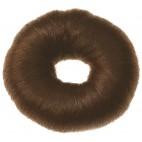 Dark brown cotton crown ∅ 9 cm