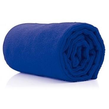 10 serviettes microfibres bleues 73x40cm