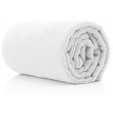 10 serviettes microfibres blanches 73x40cm