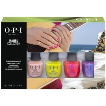 OPI Malibu - Kit de 4 minis vernis (x 3.75 ml)