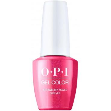 OPI Gel Color Collection Malibu - Strawberry Waves Forever 15ML