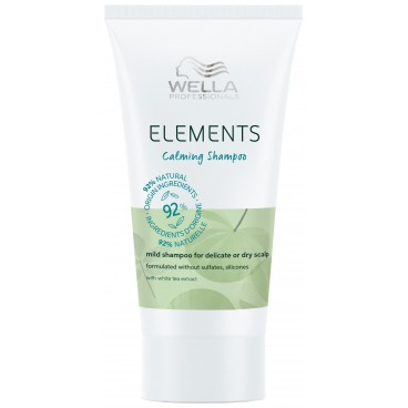 Shampooing doux Calming Elements Wella 30ML