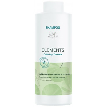 Shampooing doux Calming Elements Wella 1L
