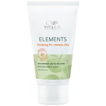 Pré-shampoing purifiant à l'argile Purifying Elements Wella 70ML
