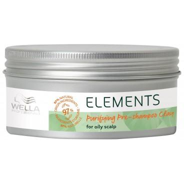 Pré-shampoing purifiant à l'argile Purifying Elements Wella 225ML