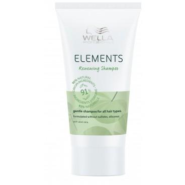 Shampooing régénérant Renewing Elements Wella 30ML