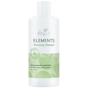Shampooing régénérant Renewing Elements Wella 500ML