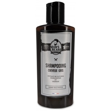 Shampooing cheveux gis Man's Beard 150ML