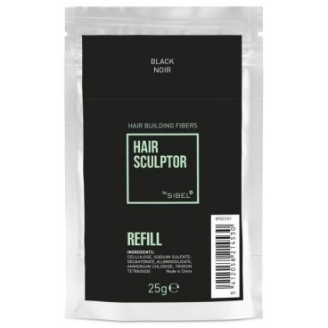 Recharge fibre Hair Sculptor noir Sibel 25g