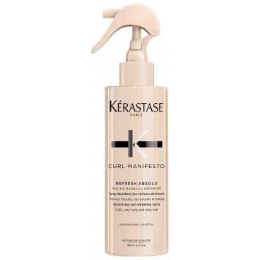 Spray sublimateur Refresh Absolu Curl Manifesto Kérastase 190ML