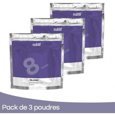 Powder Pack 3 Subtile Blond 500 Grs
