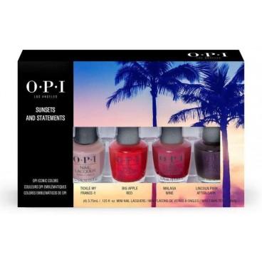 Mini kit Rouge, sunset and statement OPI