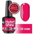 Mini Vernis Semi-Permanent Hybrid Shine Mollon Pro 8ml Yvonne 2/134
