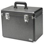 0150591 Black rhinestone suitcase size S