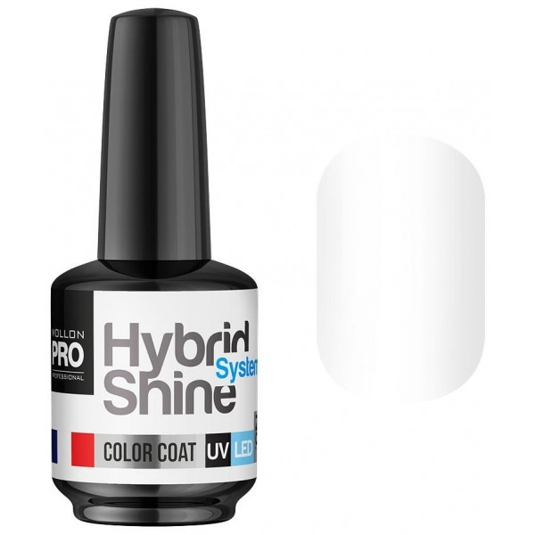 Semi-Permanent Mini Varnish Hybrid Shine Mollon Pro 8ml Jasmine 2/01
