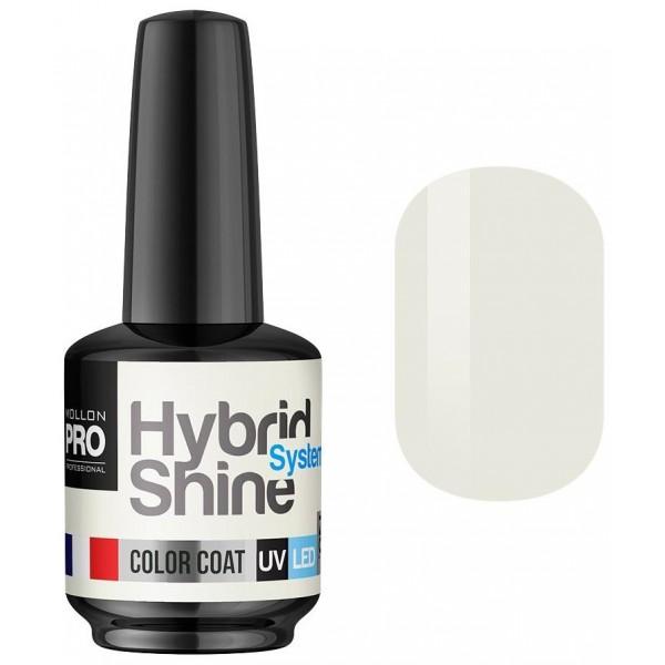 Mini Vernis Semi-Permanent Hybrid Shine Mollon Pro Vanilla 2/02