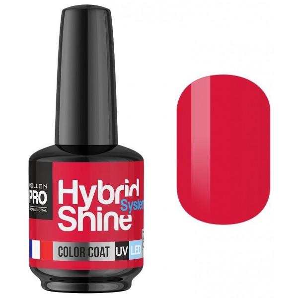 Mini Hybrid Shine Mollon Pro 8ml Fiery Semi-Permanent Varnish 2/18