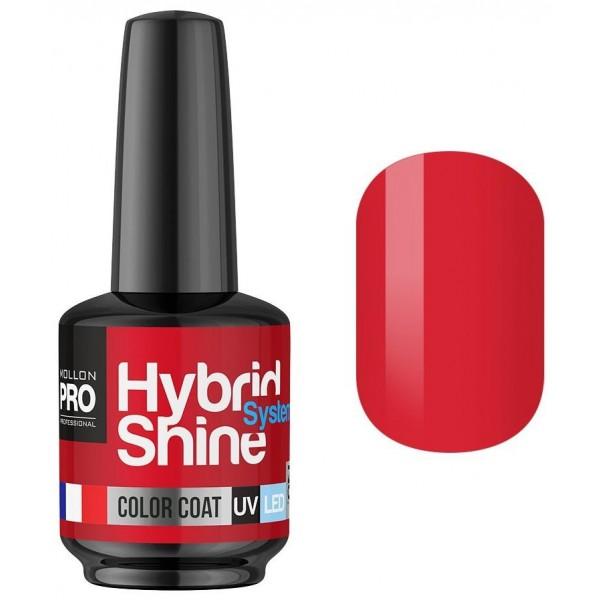 Mini Hybrid Shine Mollon Pro 8ml Semi-Permanent Varnish Soft Framboise 2/44